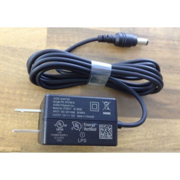 Google fiber 12V 1.5A OTD017 AC Adapter Charger