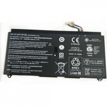 Acer Aspire S7-392-9877 S7-392 Aspire S7-39 3AP13F3N Battery