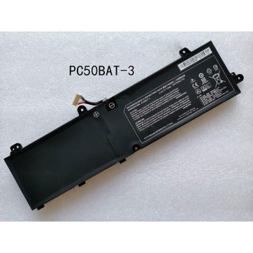 PC50BAT-3 Replacement Battery For Clevo PC50DN2 Key 15 Comet Lake Laptop