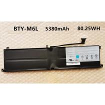 MSI Creator 17 A10SGS BTY-M6L GE63 8RF Laptop Battery