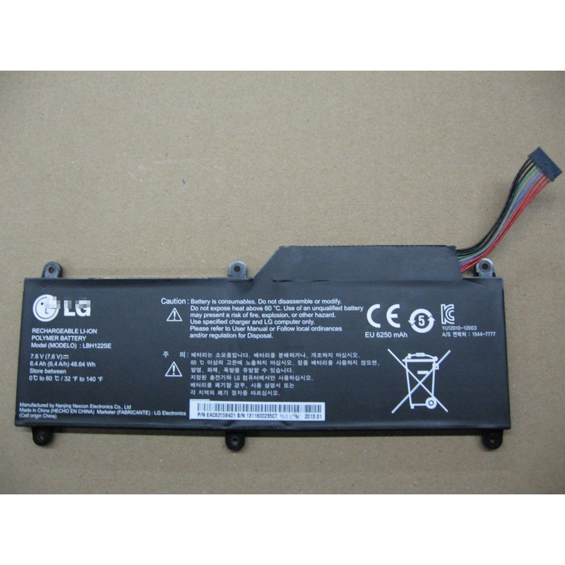 LG LBH122SE U460 Ultrabook Battery 6400mAh 48 64Wh