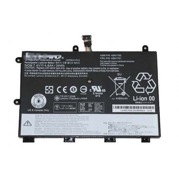 Genuine Lenovo ThinkPad Yoga 11e 45N1750 45N1751 34Wh Battery