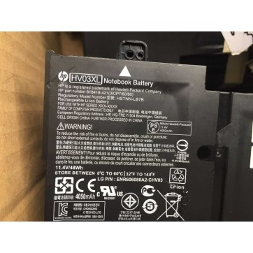 Genuine 48Wh HP HSTNN-LB7B 818418-421 HV03XL laptp battery