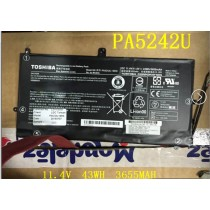 PA5242U-1BRS  Genuine Toshiba 43WH/3655MAH PA5242U  Battery