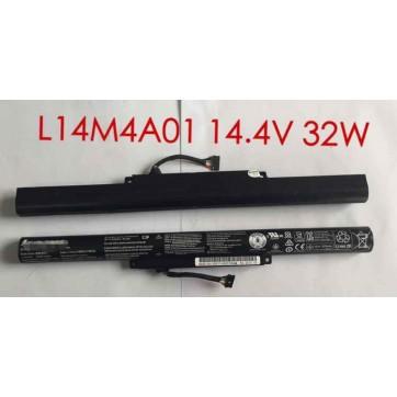 Genuine Original  l14m4a01 laptop  battery for lenovo l14m4a01 laptop 14.4V 32Wh
