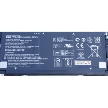 Genuine Hp HSTNN-LB7L, SH03XL, Spectre x360 13 w023dx Notebook Battery