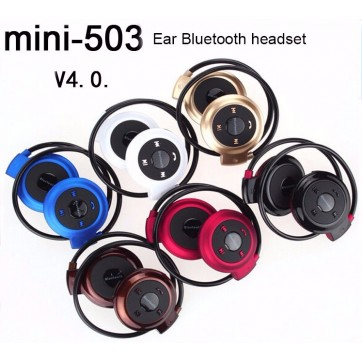 Mini-503 Wireless Bluetooth 4.0 Stereo Headphones Handsfree Sports Music In-Ear Headphones Headphones Bluetooth