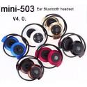 Wireless Bluetooth 4.0 Stereo Headphones Handsfree Sports Music In-Ear Headphones Headphones Bluetooth Mini-503